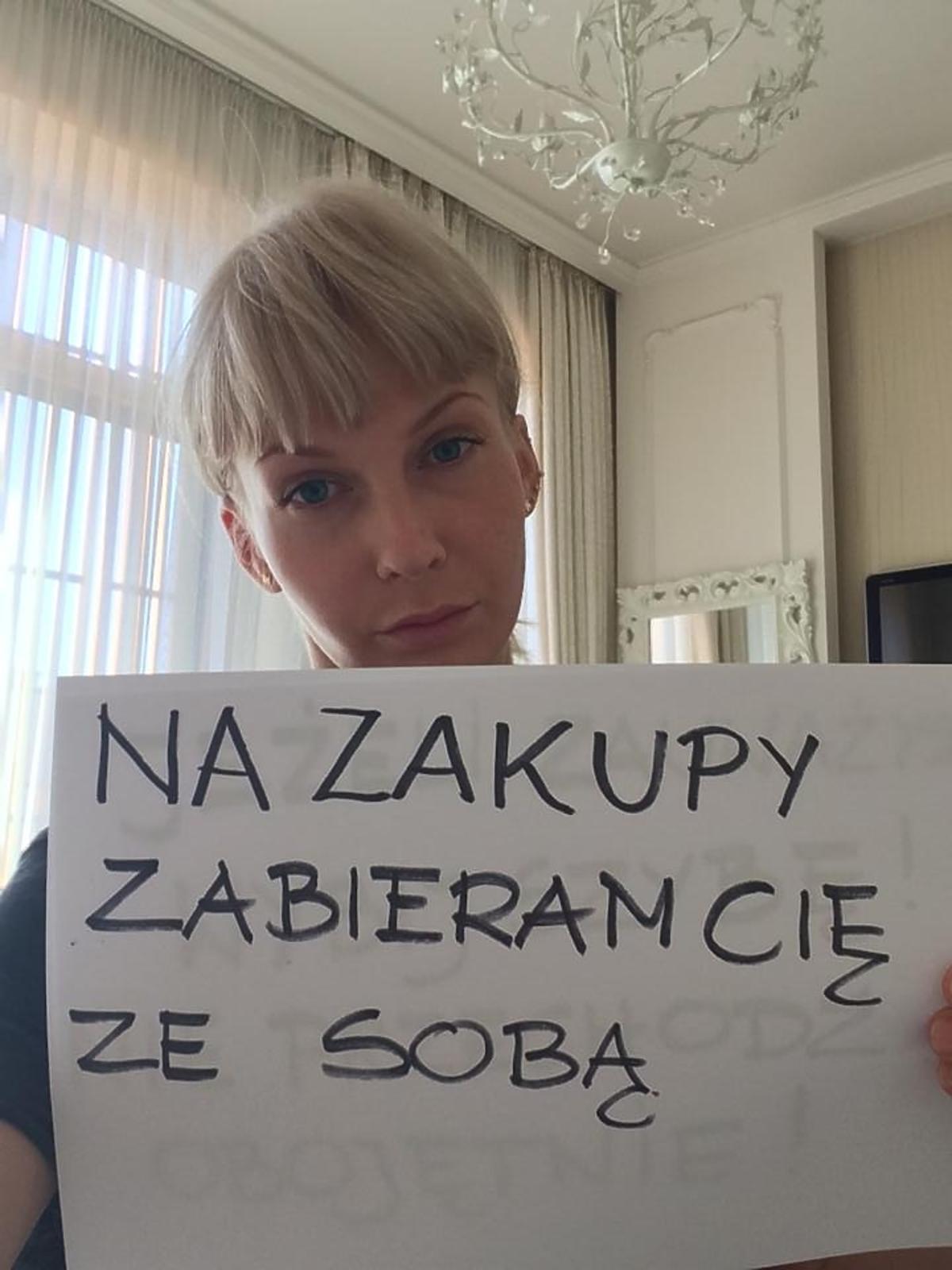 Edyta Pazura w akcji społecznej