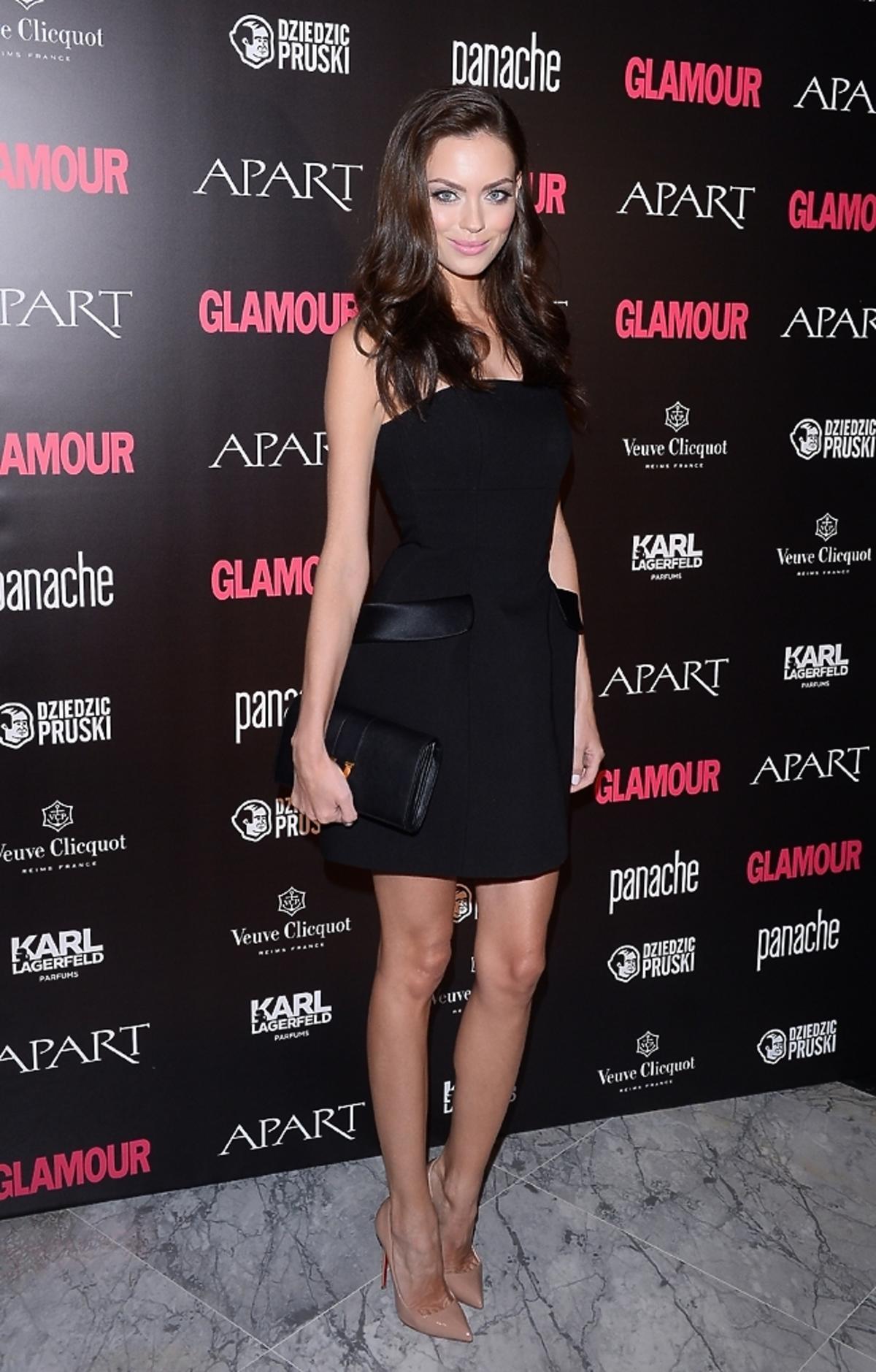 Edyta Zając na gali Kobieta Roku Glamour 2014