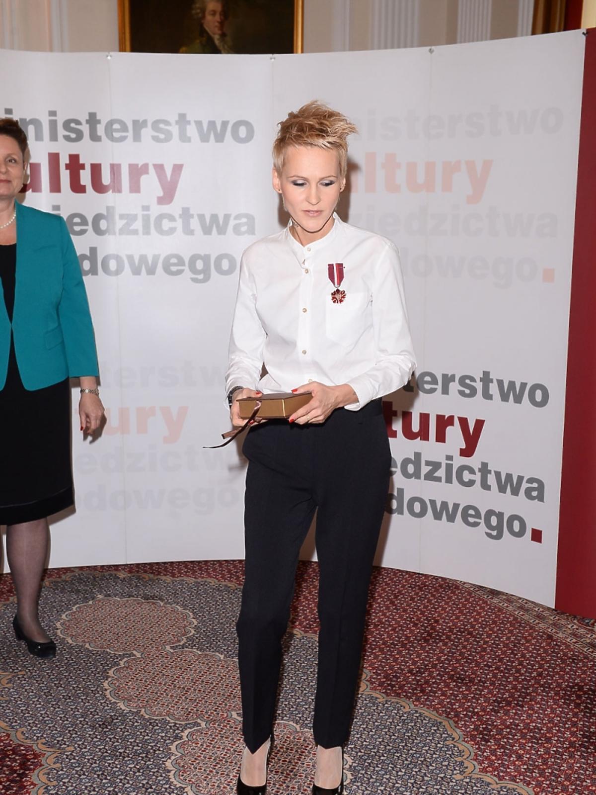 Elegancka Agnieszka Chylińska