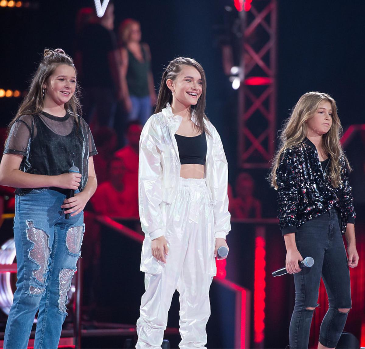 Eliza Xerxa, Lizaveta Misnikova i Natalia Wawrzyńczyk - The Voice Kids 3 bitwy