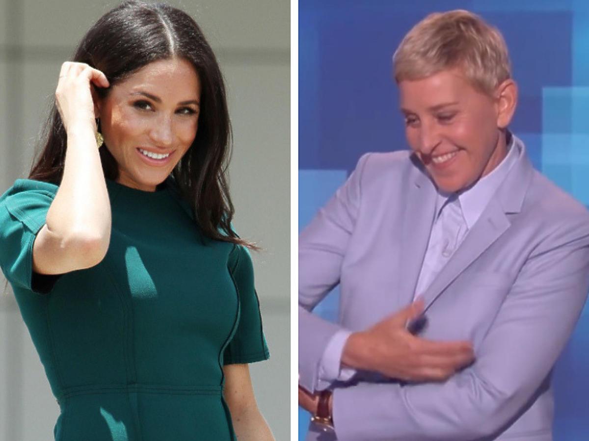 Ellen DeGeneres nosiła Archiego Harissona