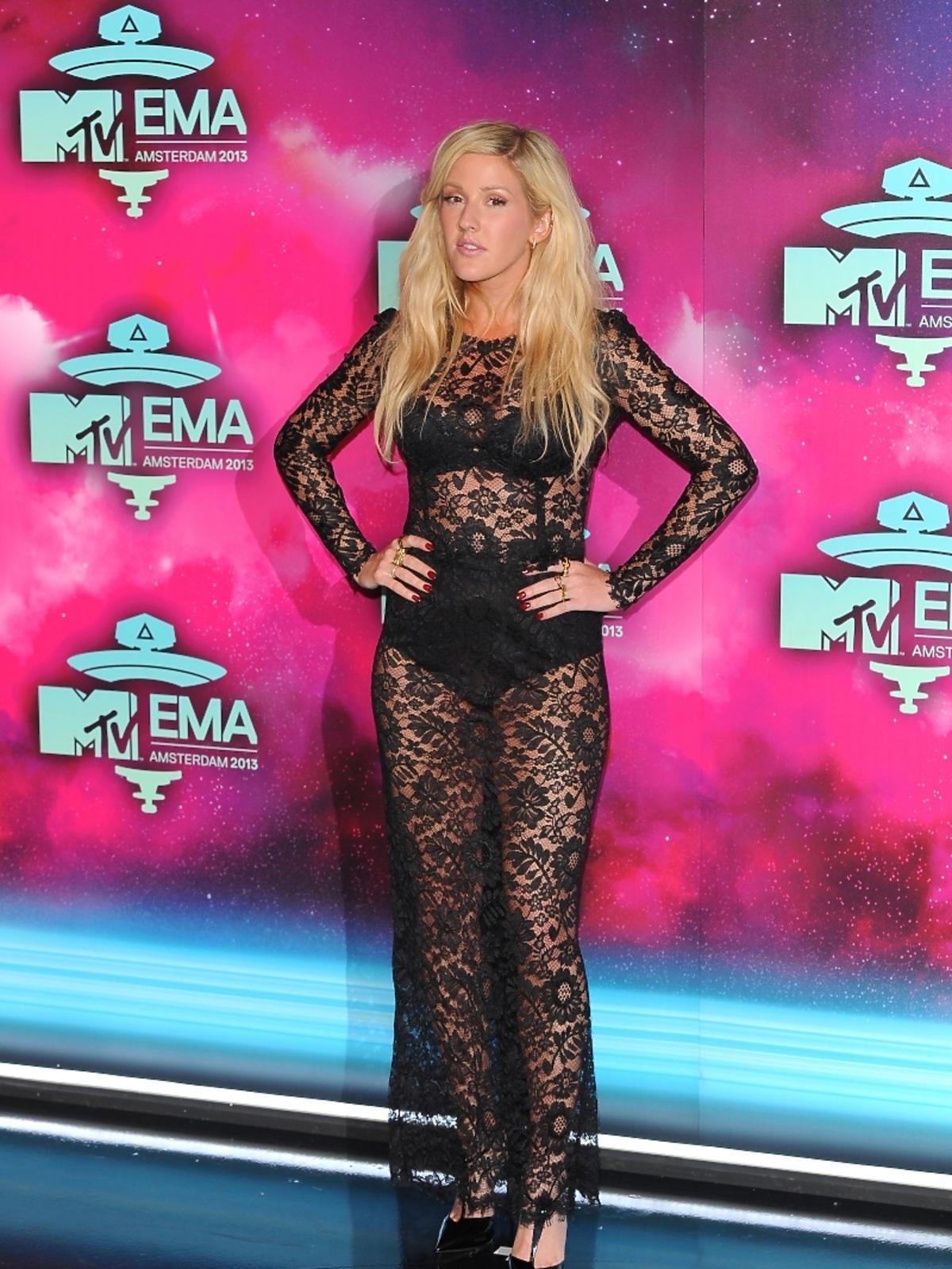 Ellie Goulding na gali MTV EMA 2013 w Amsterdamie