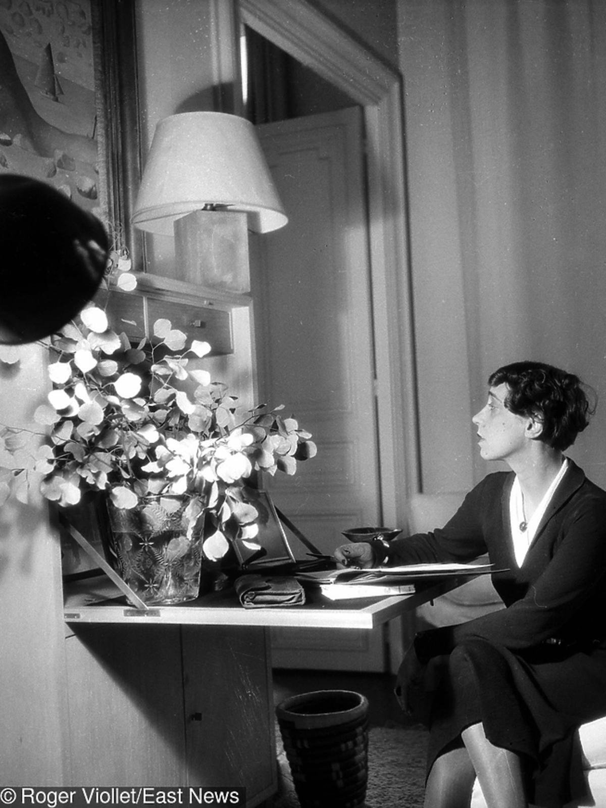 Elsa Schiaparelli w Paryżu, 1936