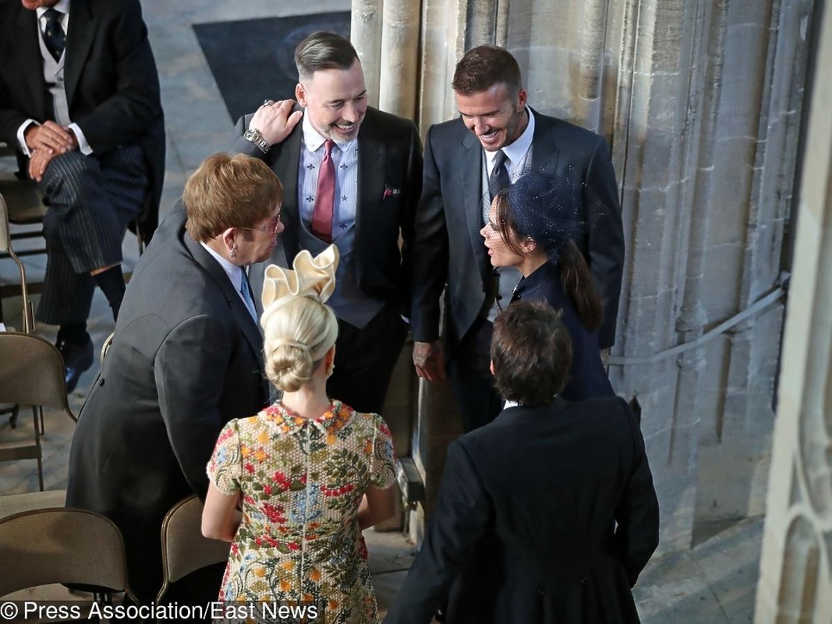Elton John na ślubie Meghan Markle i księcia Harry'ego