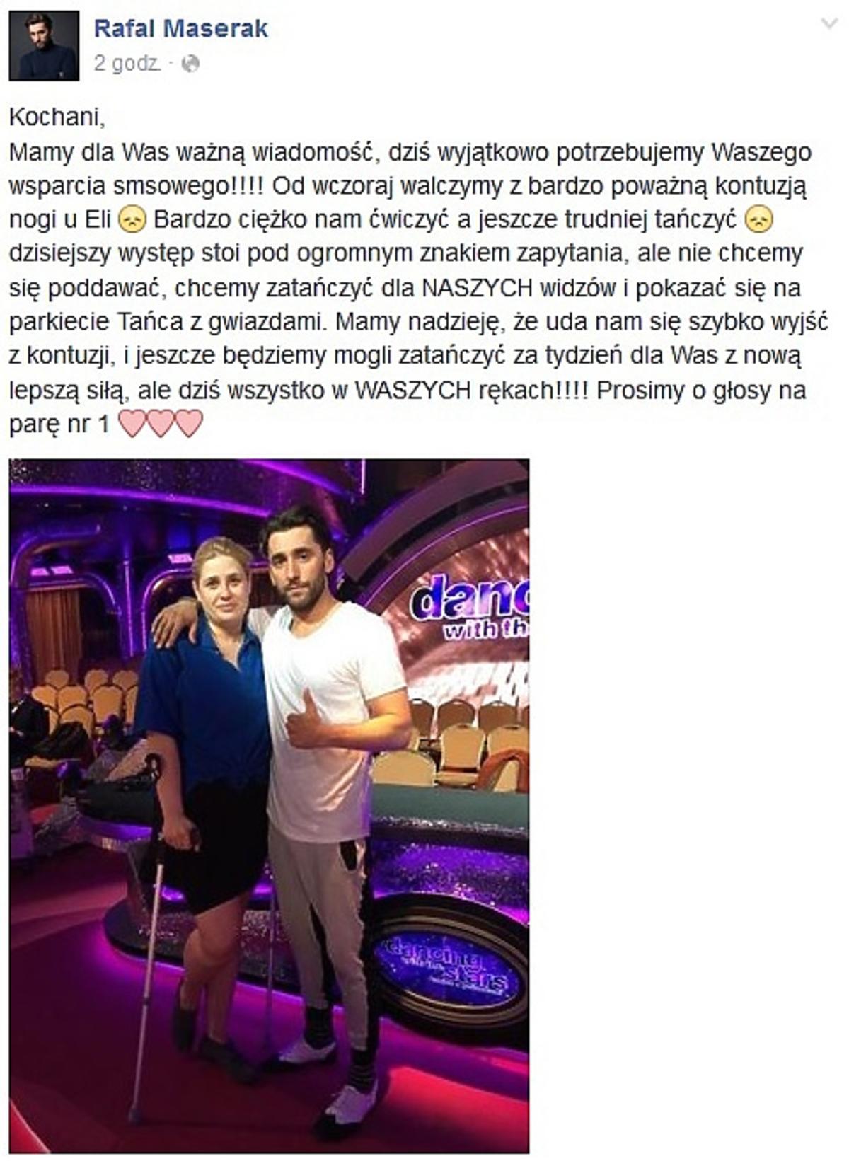 Elżbieta Romanowska i Rafał Maserak nie zatańczą w Tańcu z Gwiazdami?