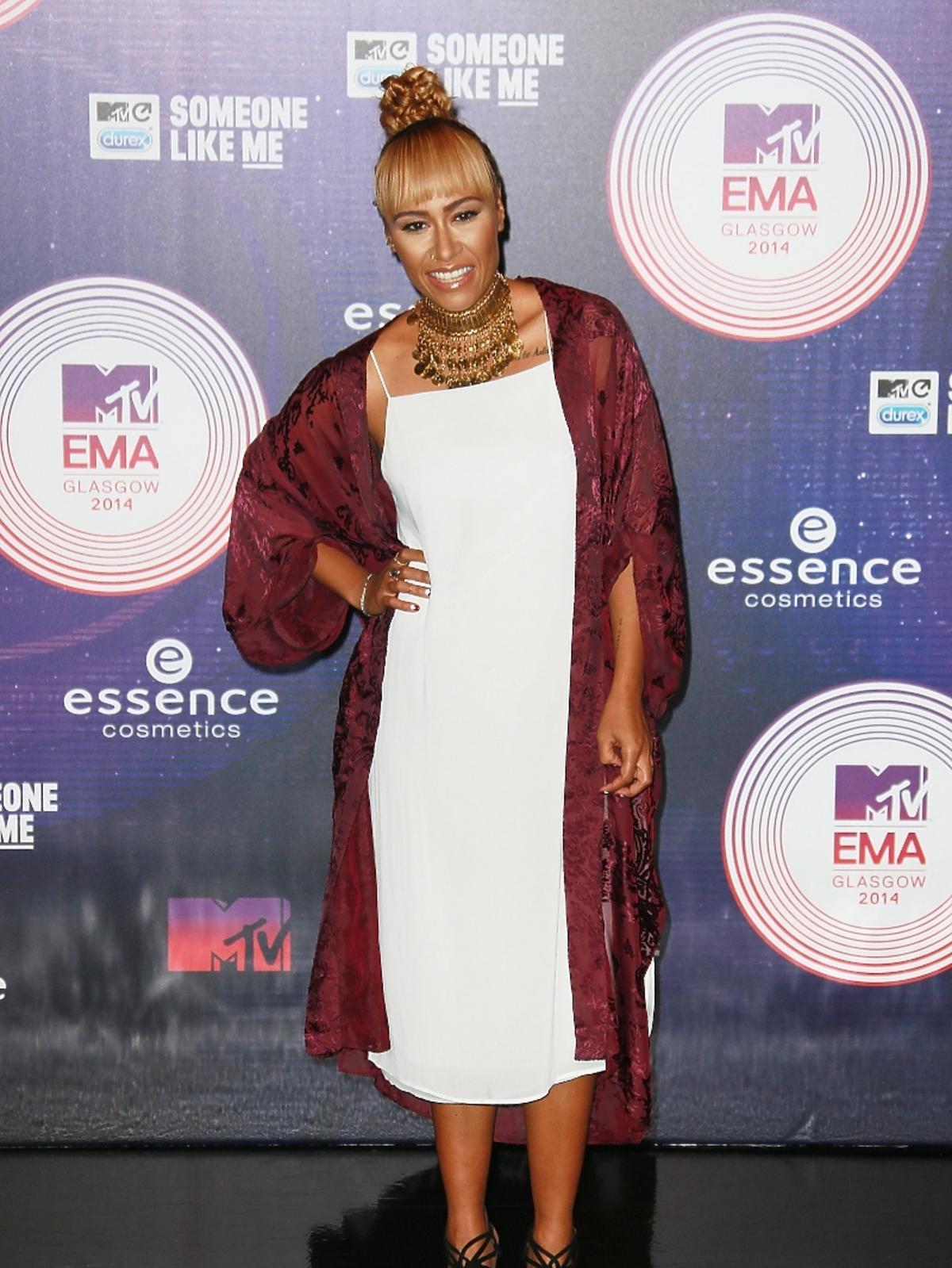 Emeli Sande na MTV EMA 2014 w Glasgow