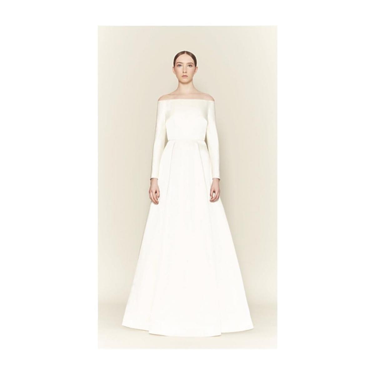 Emilia Wickstead - suknia ślubna