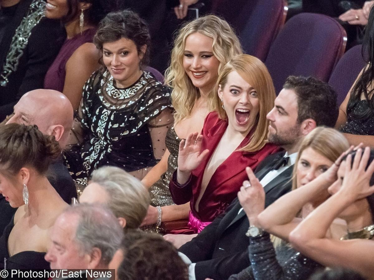 Emma Stone na gali rozdania Oscarów 2018