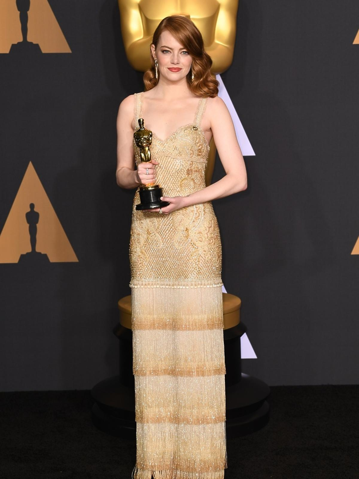 Emma Stone Oscary 2017 La La Land