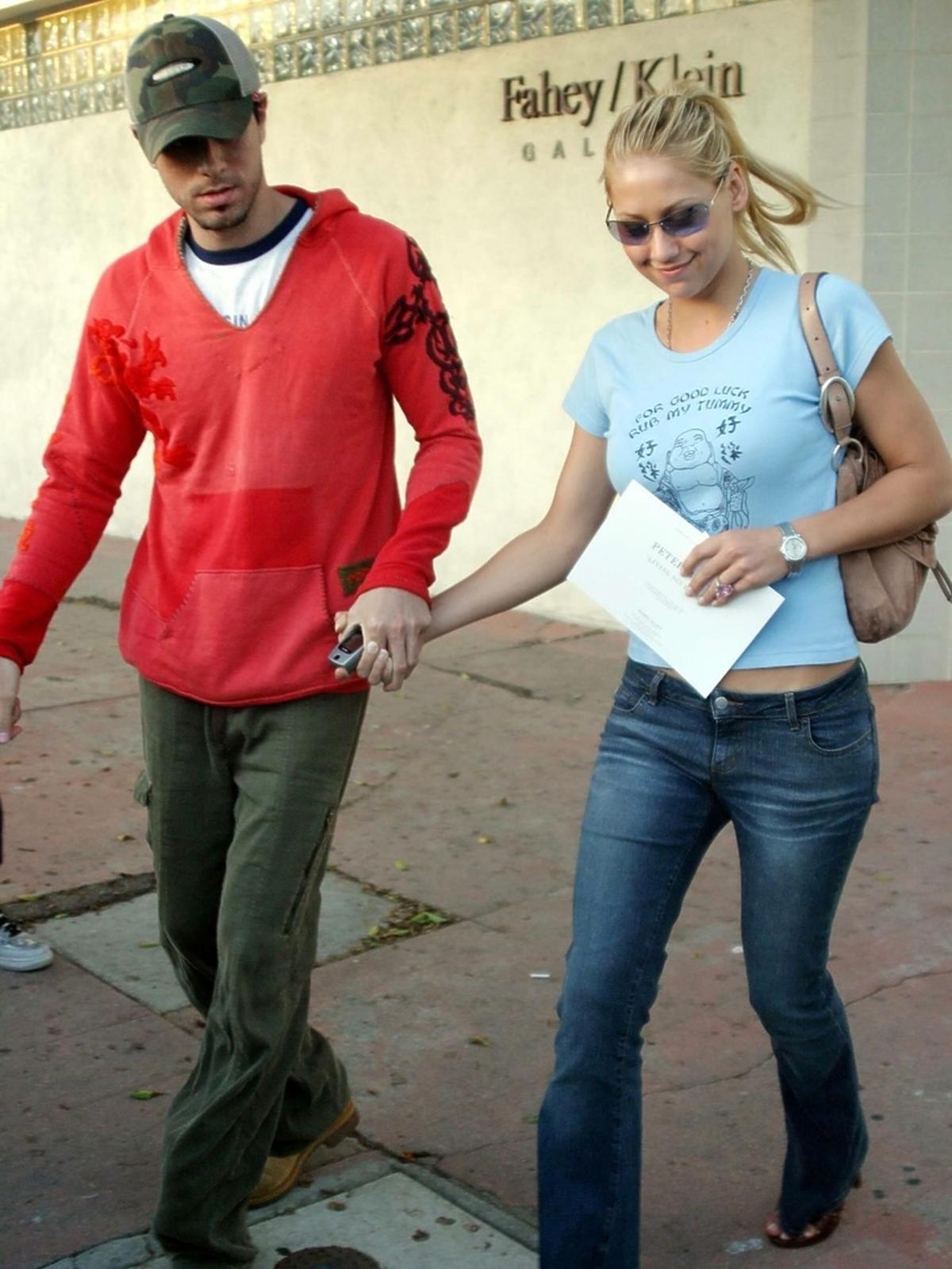 Enrique Iglesias i Anna Kournikova