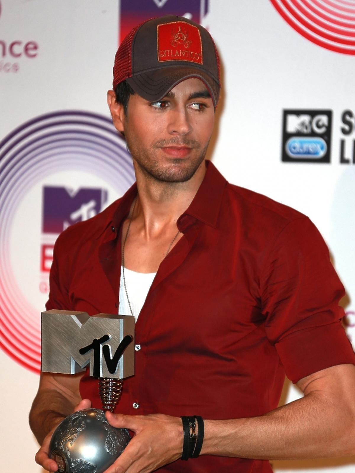 Enrique Iglesias na MTV EMA 2014 w Glasgow