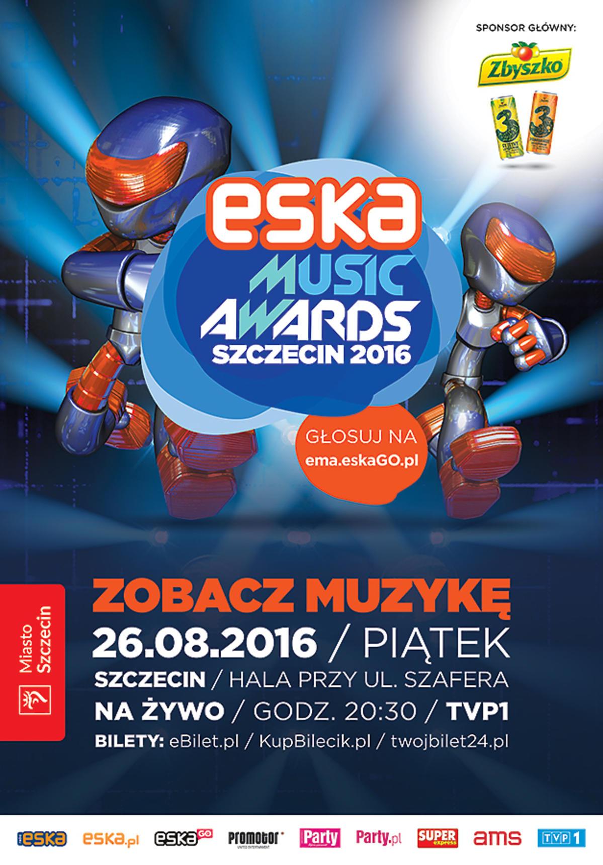Eska Music Awards 2016