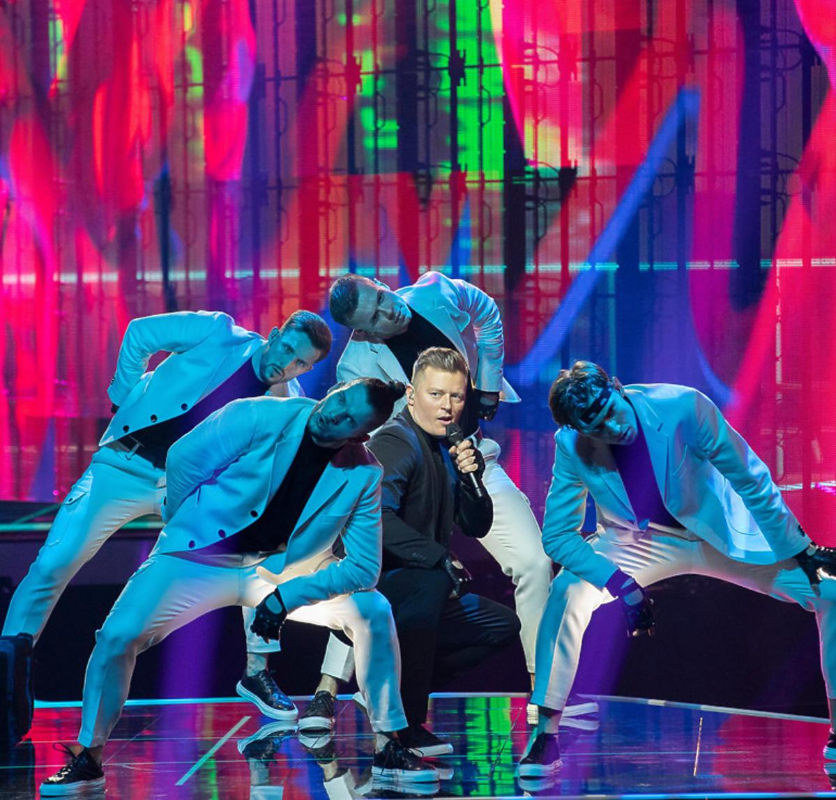 Eurowizja 2021: Rafał Brzozowski na pierwszej próbie
