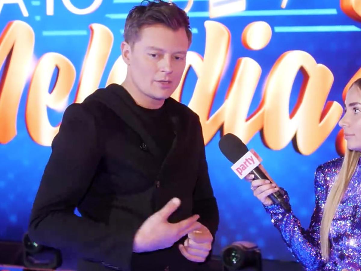 Eurowizja 2021: Rafał Brzozowski w rozmowie z dziennikarką Party.pl