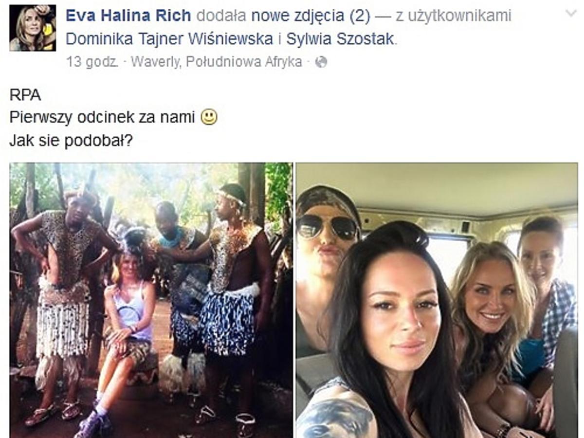 Eva Halina Rich pokazała zdjęcia z planu Agenta