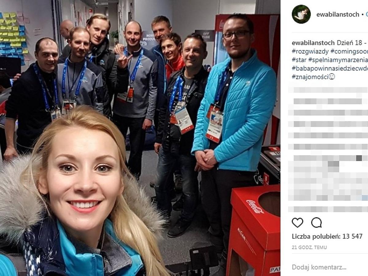 Ewa Bilan-Stoch - relacja z w Pjongczangu 2018