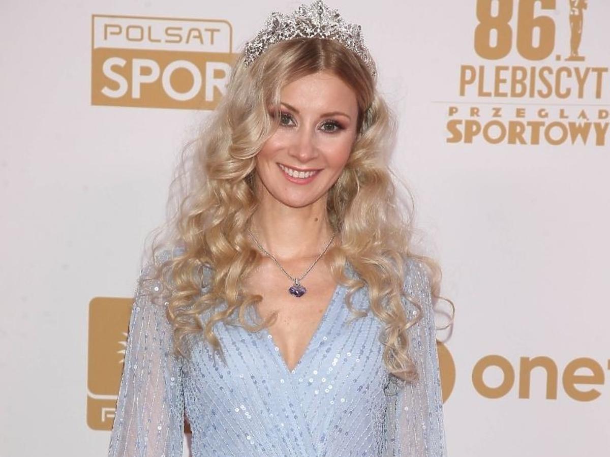 Ewa Bilan-Stoch w koronie na Gali Mistrzów Sportu