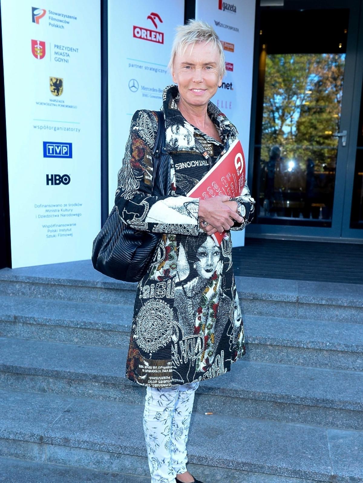Ewa Błaszczyk na 39 Festiwalu Filmowym w Gdyni 2014