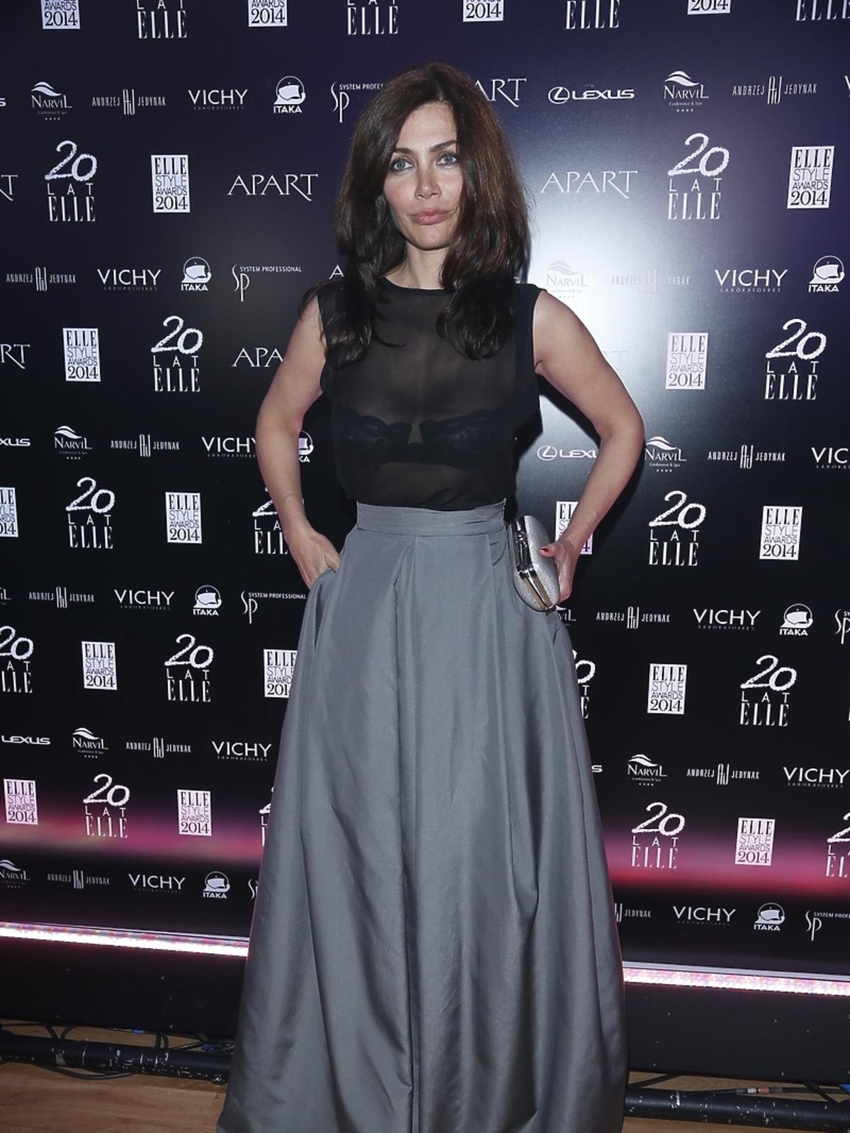 Ewa Bukowska na Elle Style Awards 2014