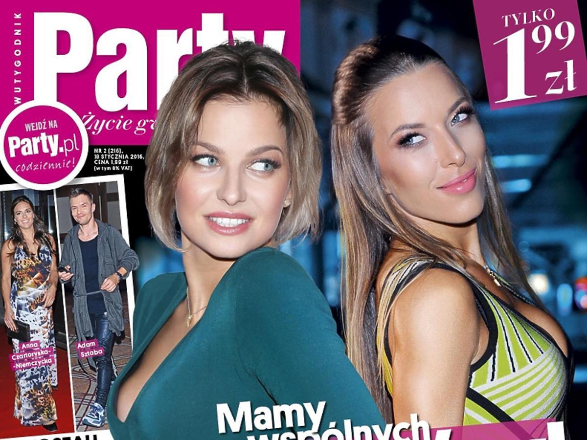 Ewa Chodakowska i Anna Lewandowska na okładce Party