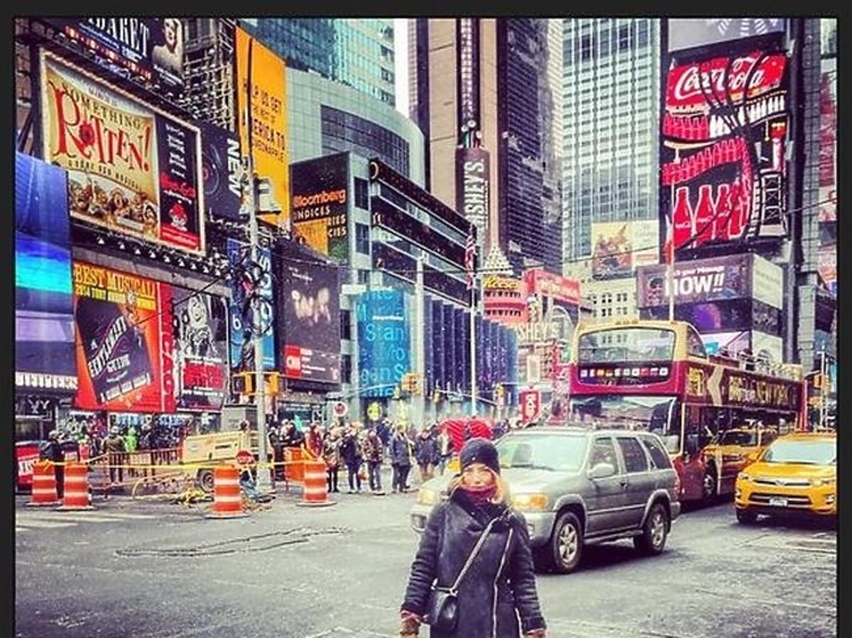 Ewa Chodakowska w Nowym Jorku