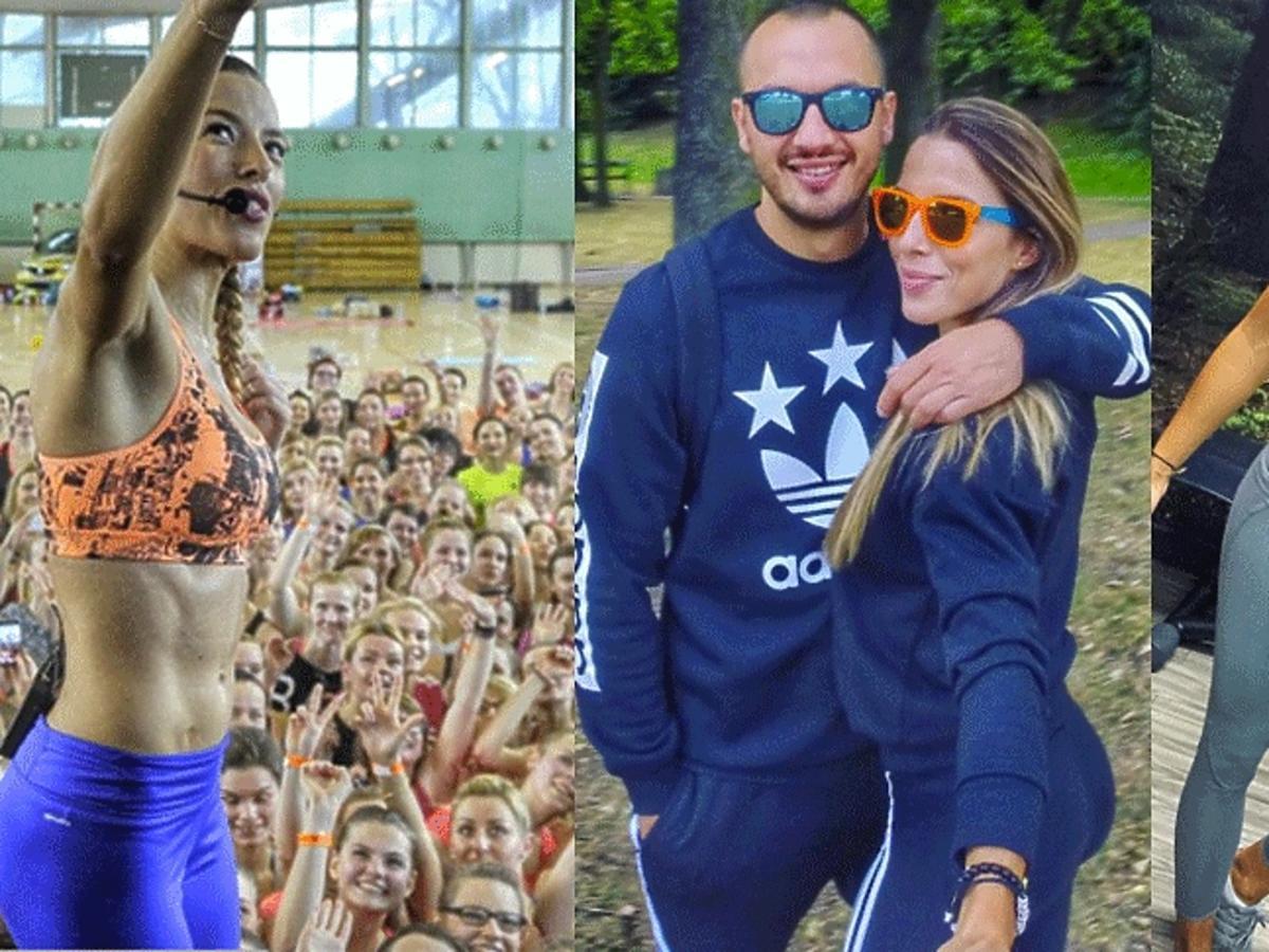 Ewa Chodakowska z fankami, mężem i na siłowni