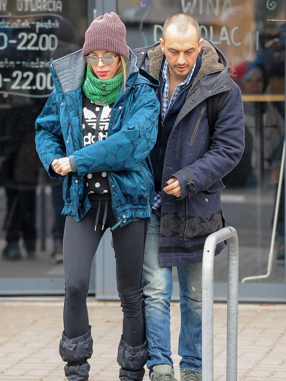 Ewa Chodakowska z mężem w sportowych stylizacjach