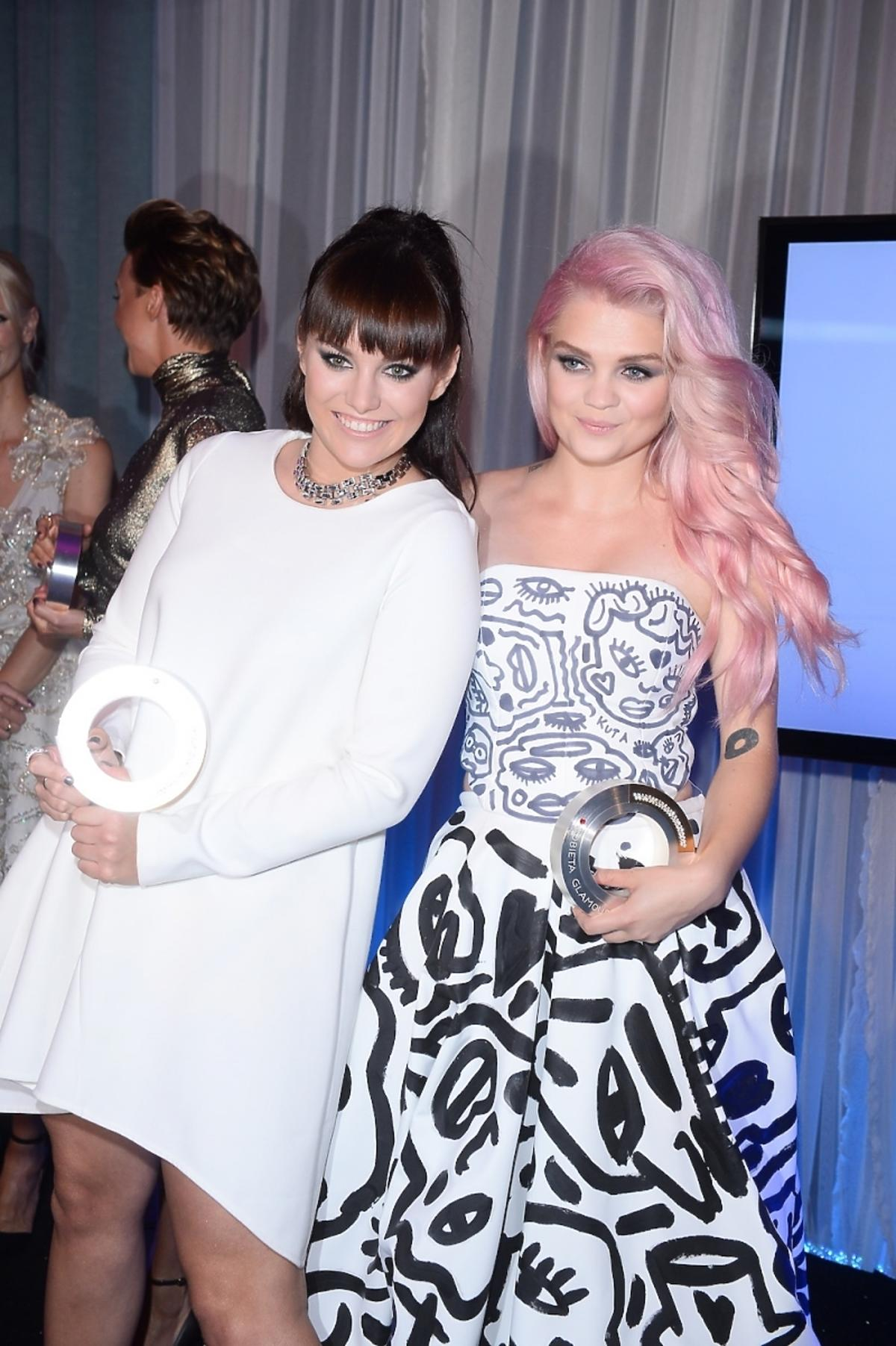 Ewa Farna i Margaret na Kobieta Roku Glamour 2014