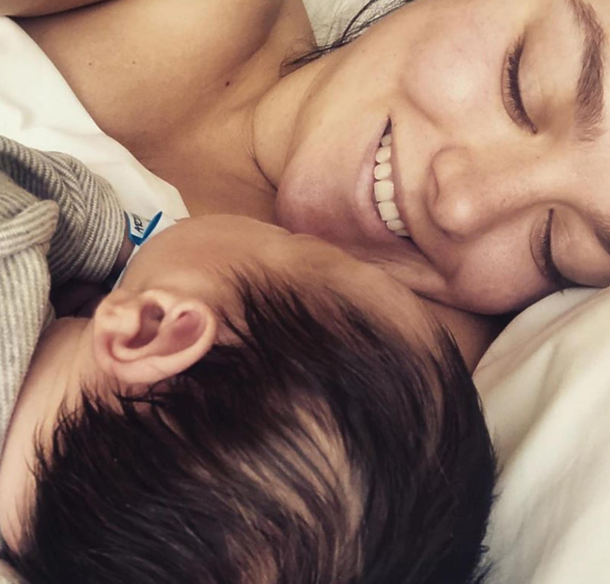 Ewa Farna pokazała zdjęcie dziecka na Instagramie