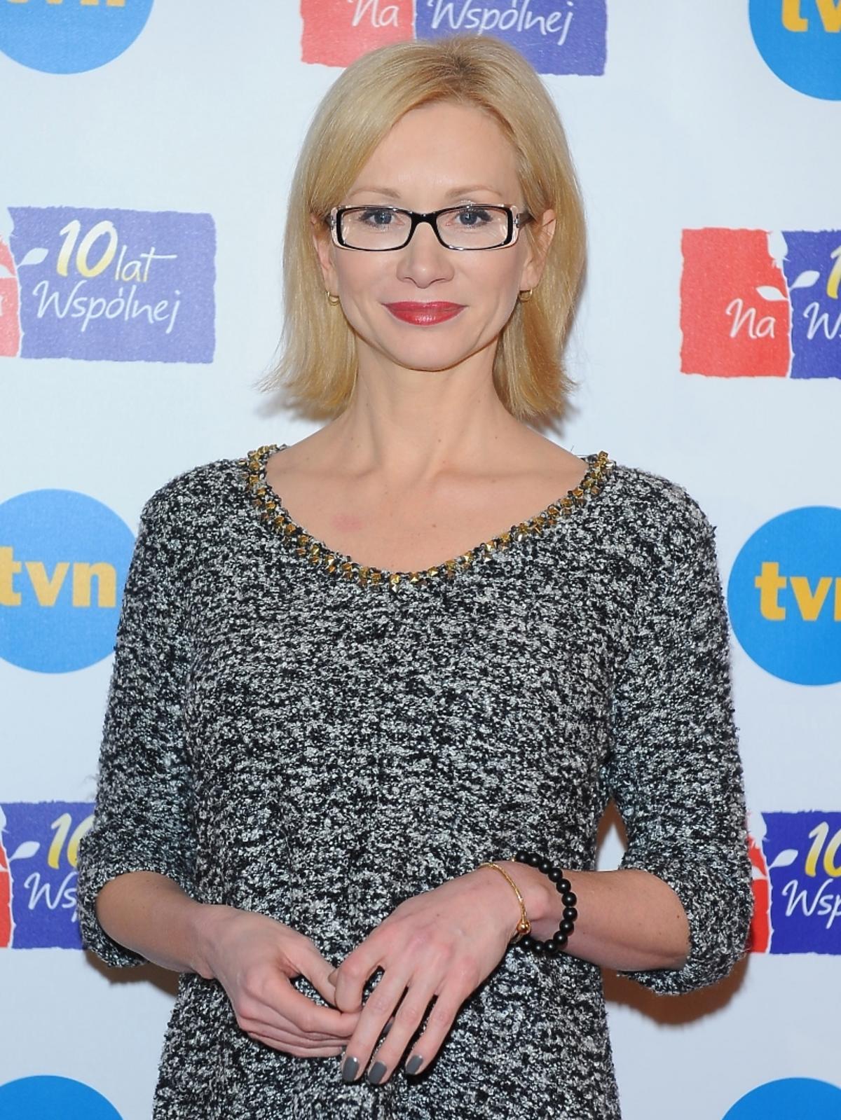 Ewa Gawryluk na 10-leciu serialu