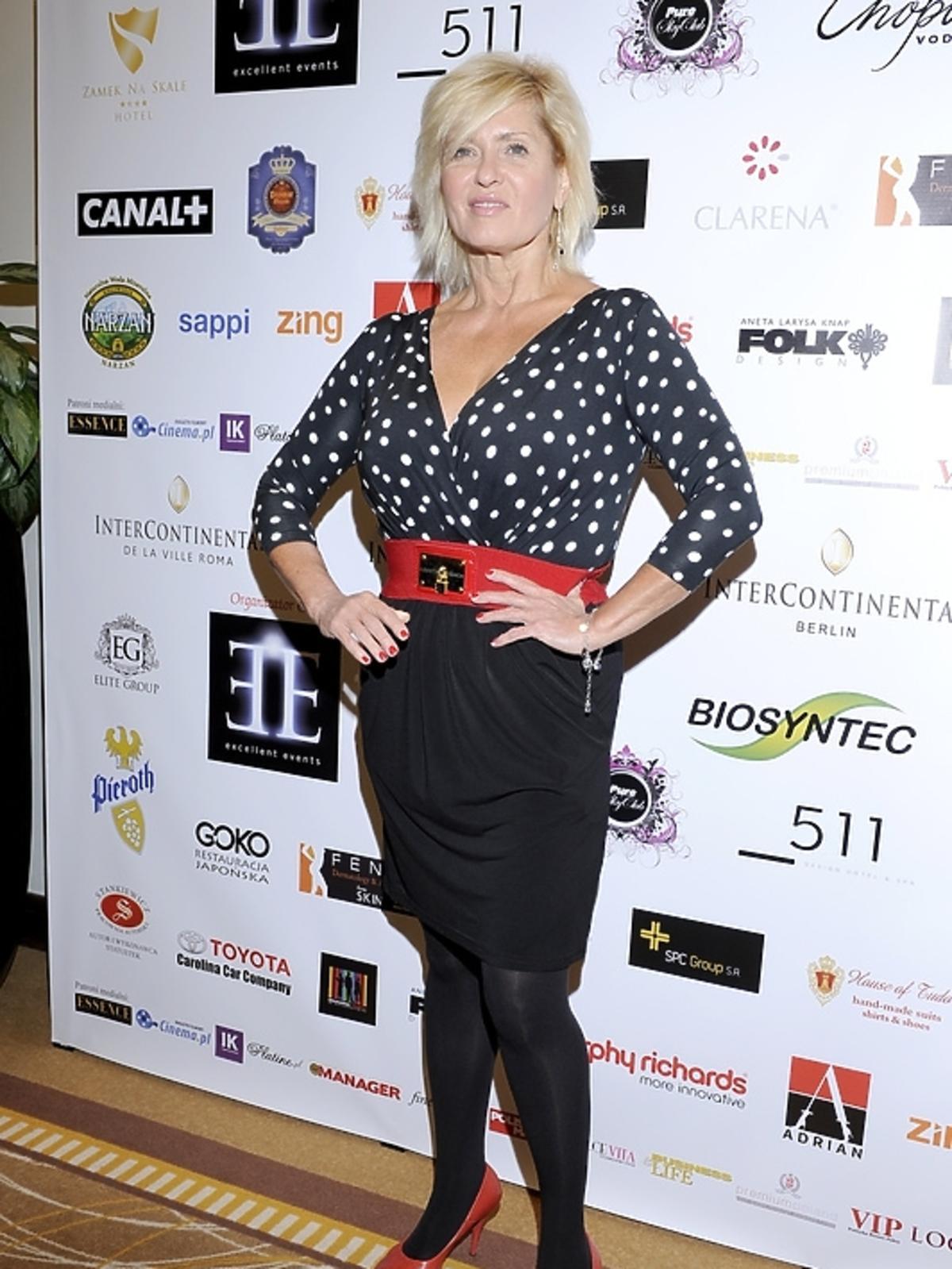 Ewa Kasprzyk na gali Luksusowa Marka Roku 2012