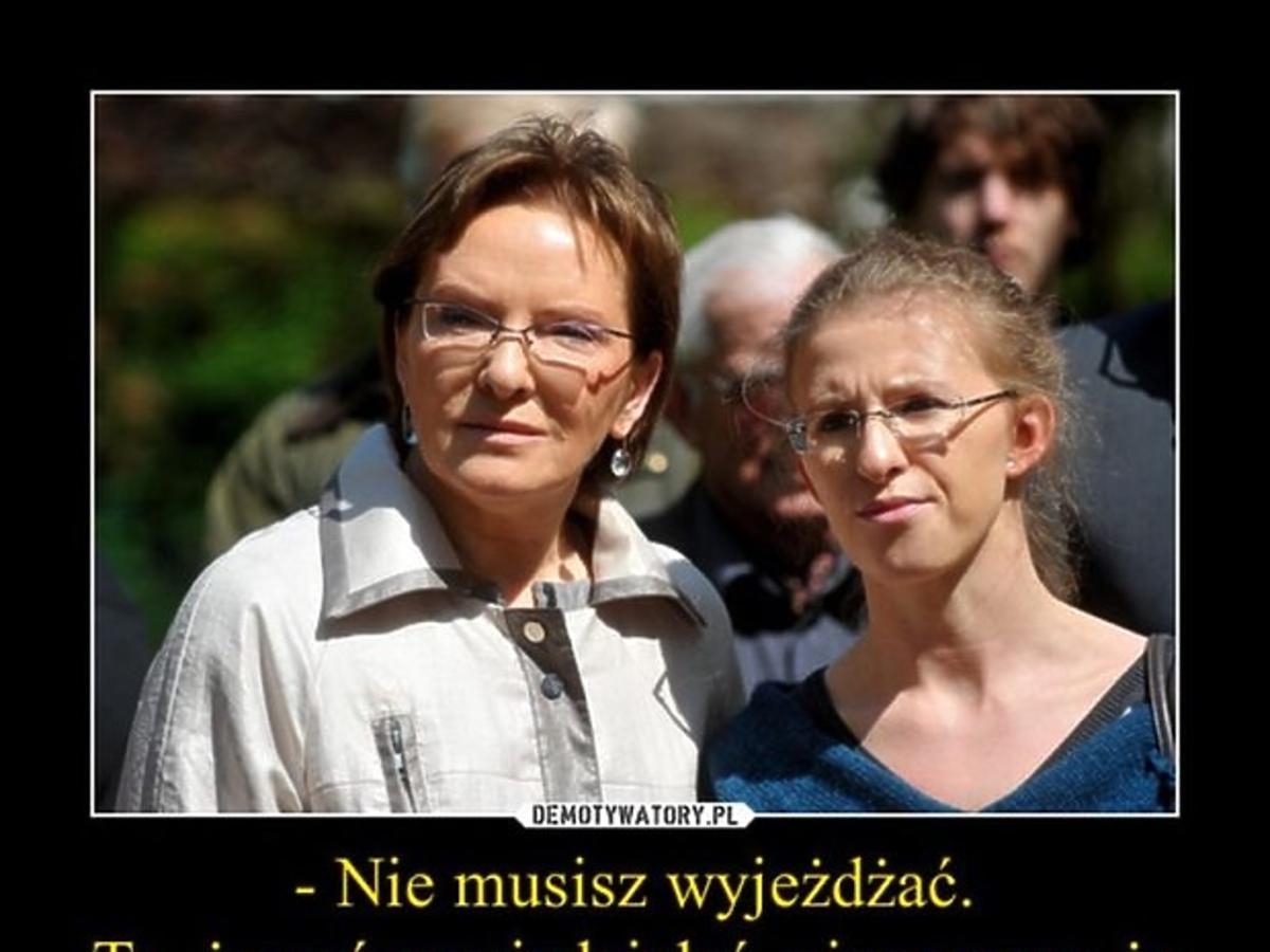 Ewa Kopacz, Katarzyna Kopacz - memy po debacie