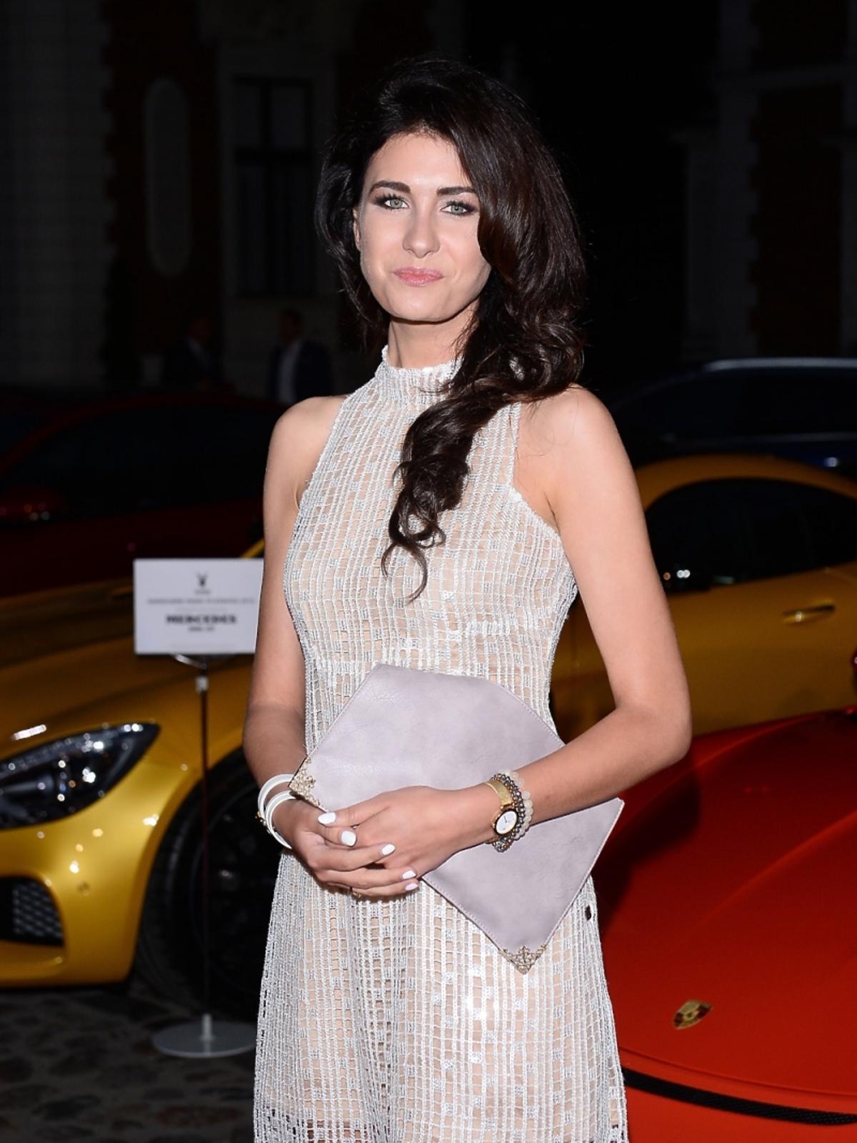 Ewa Mielnicka na imprezie Samochód Roku Playboya