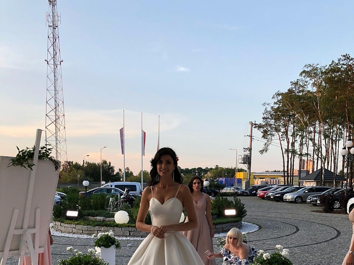Ewa Mielnicka wyszła za mąż, sukienka ślubna