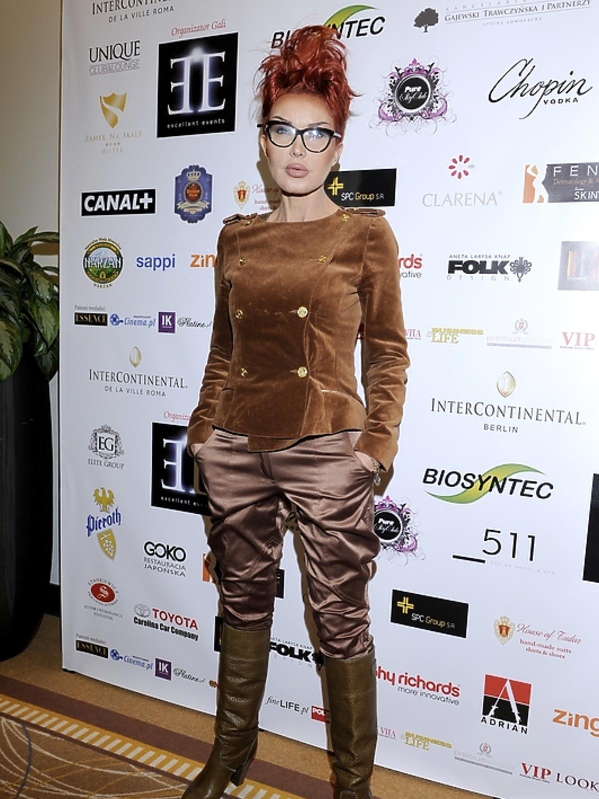Ewa Minge na gali Luksusowa Marka Roku 2012