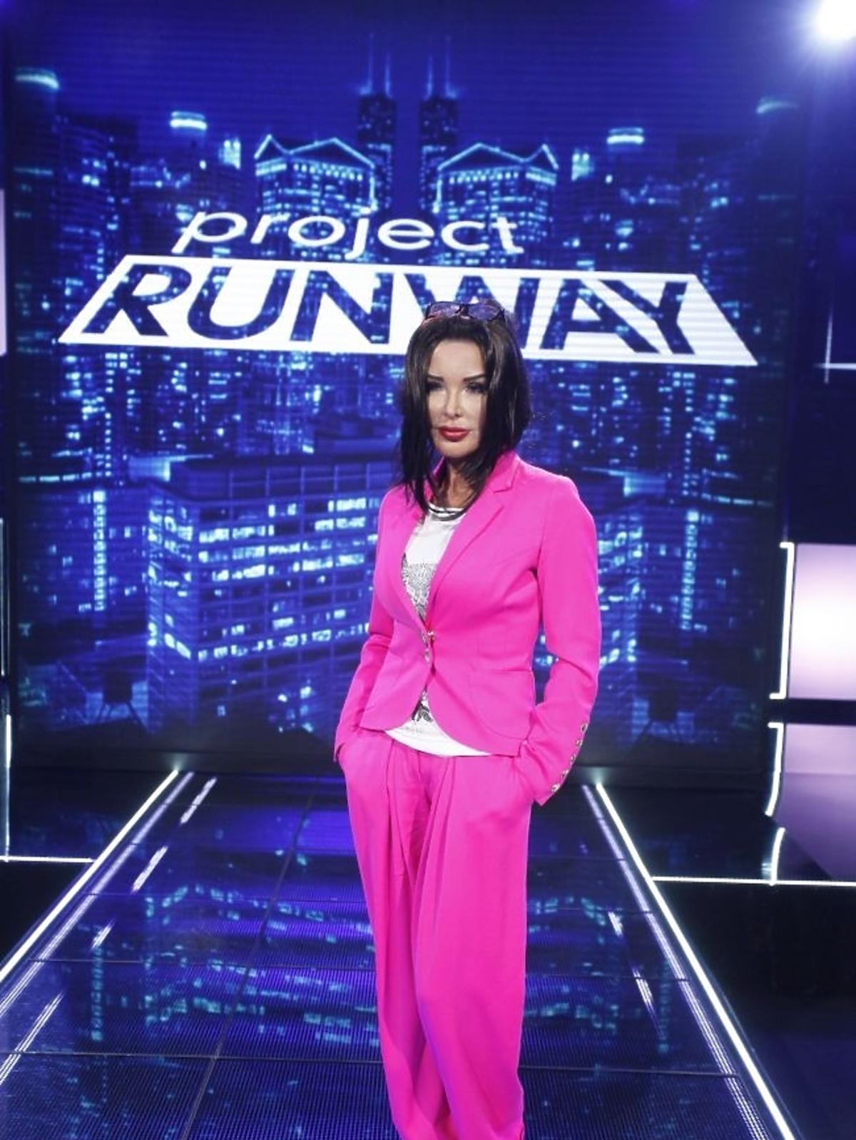 Ewa Minge na planie Project Runway