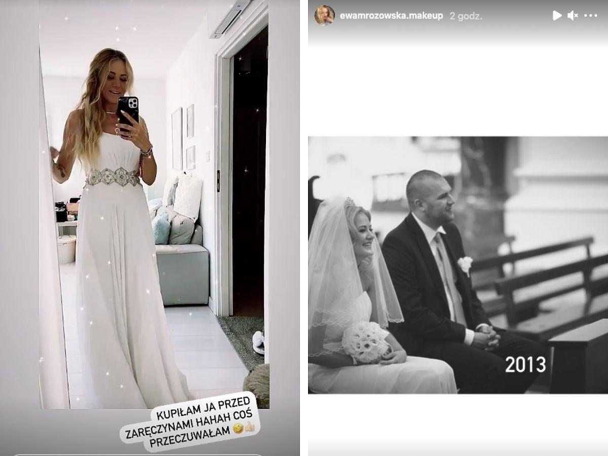 Ewa Mrozowska pokazała fanom swoją suknię ślubną
