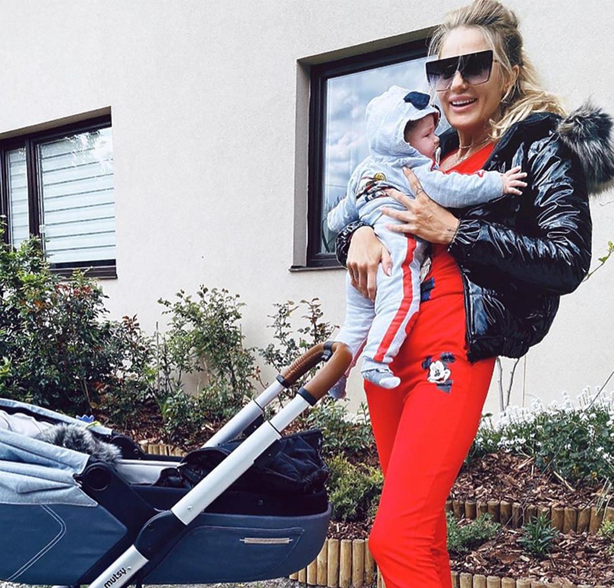 Ewa Mrozowska pokazała nowe zdjęcie z synem