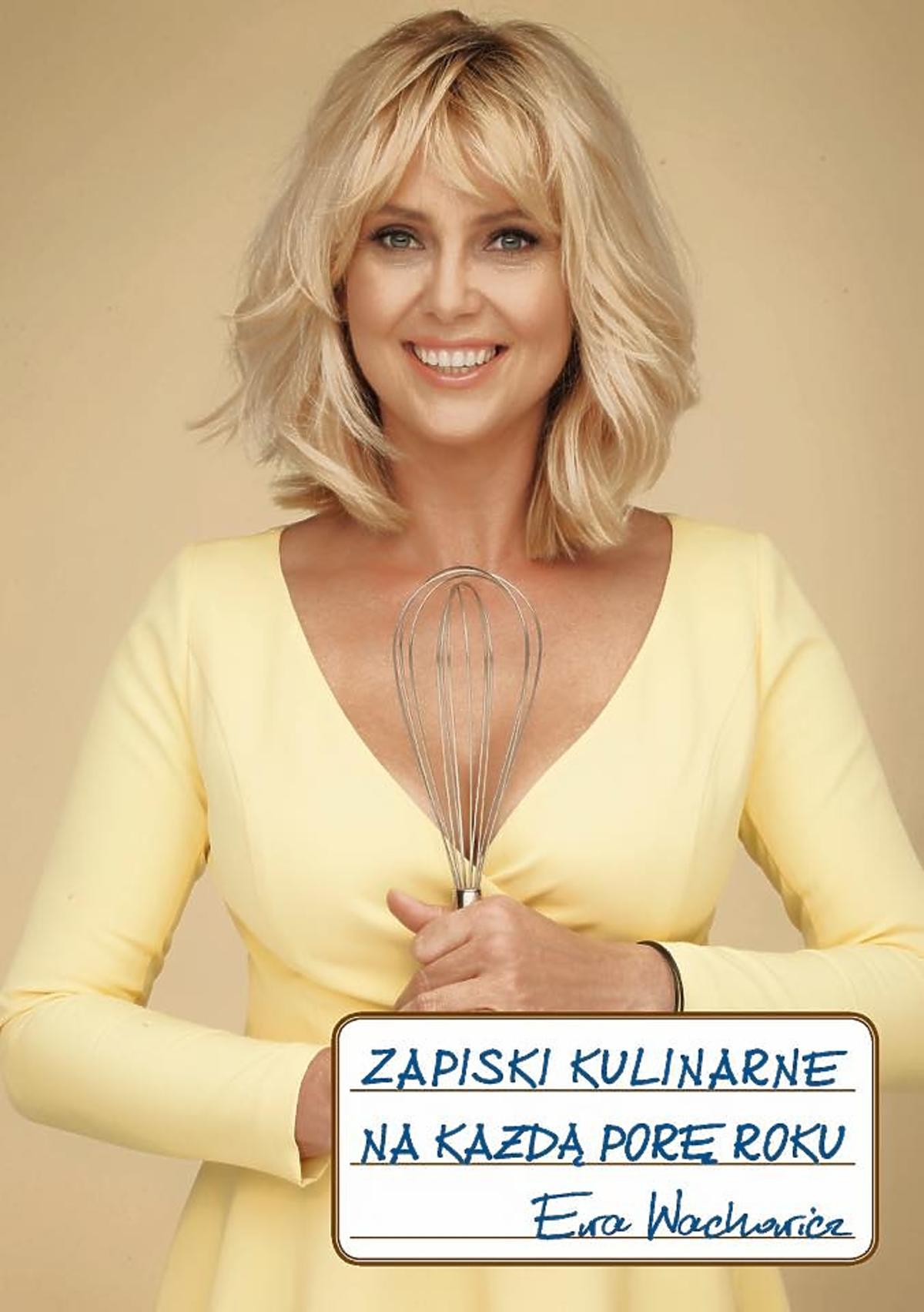 Ewa Wachowicz promuje nową książkę