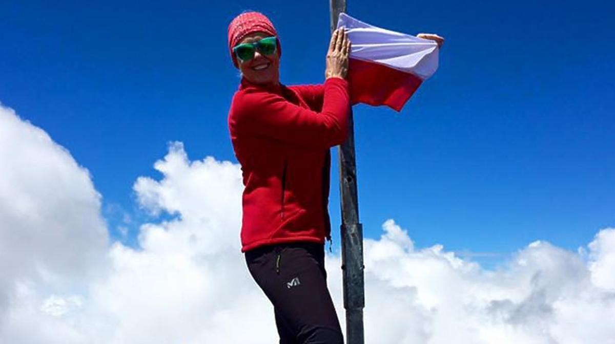Ewa Wachowicz zdobyła szczyt Mount Giluwe