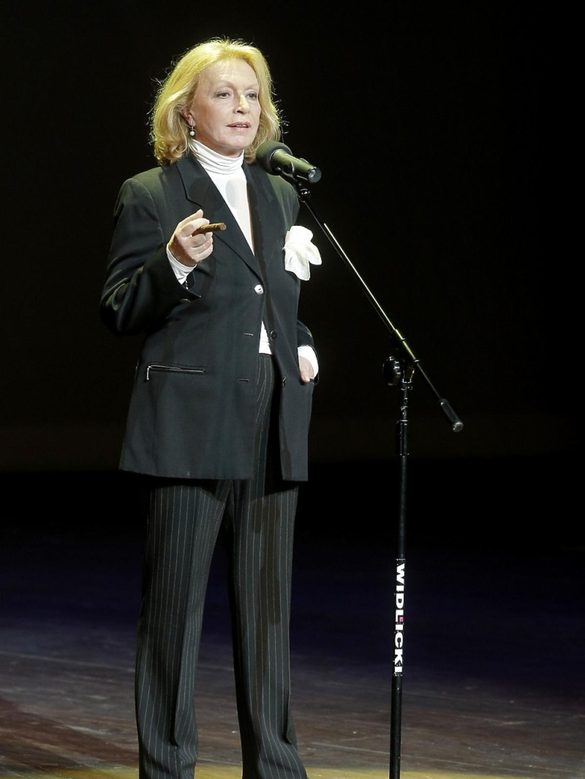 Ewa Wiśniewska na koncercie