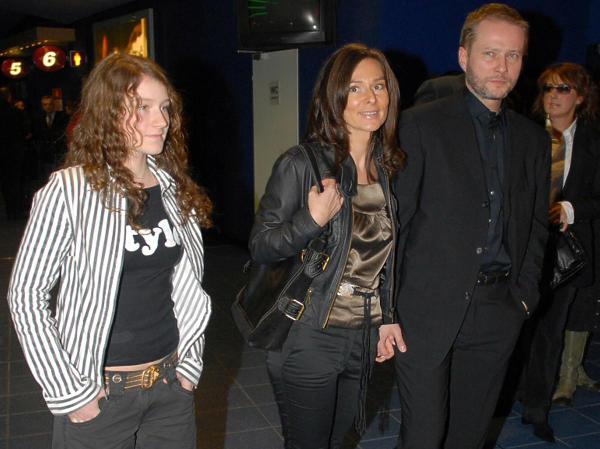 Ewa Żmijewska z rodzicami