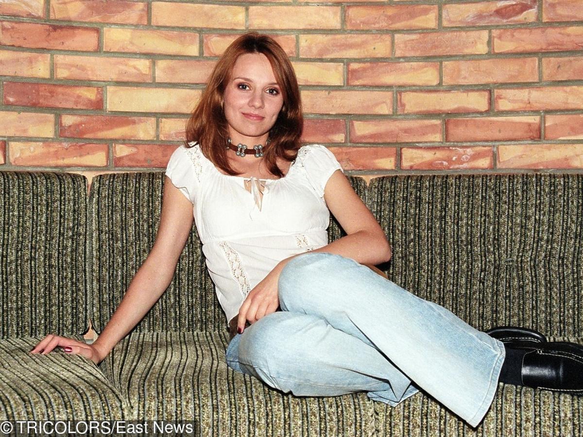 Ewelina Flinta na początku kariery