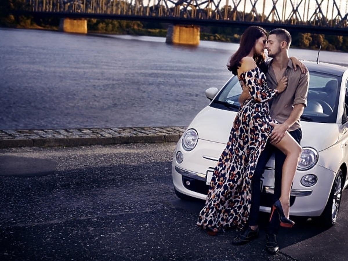 Ewelina Pachucka i Mateusz Jarzębiak w sesji po włosku w Top Model