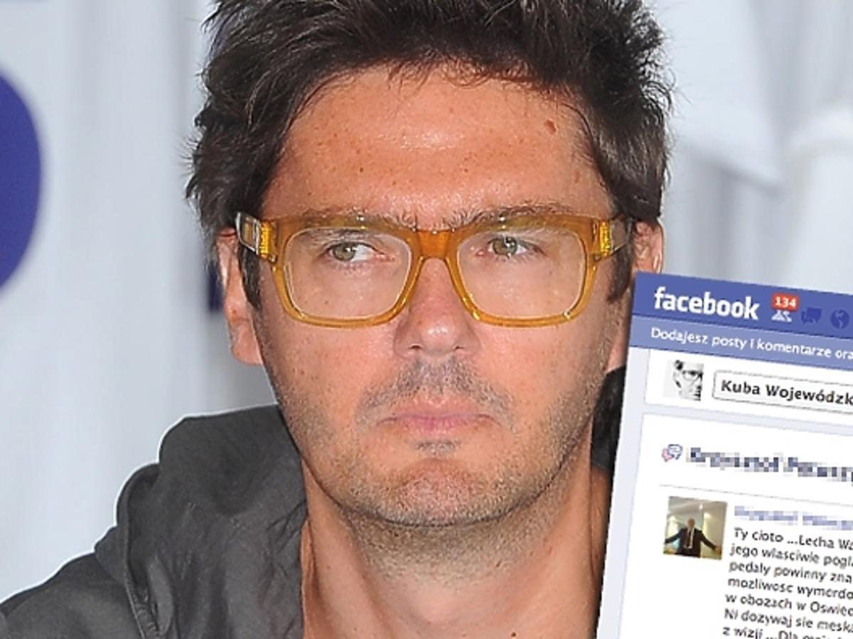 Fan obraża Wojewódzkiego na Facebooku