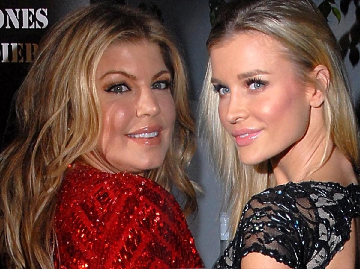 Fergie i Joanna Krupa razem na imprezie w Hollywood