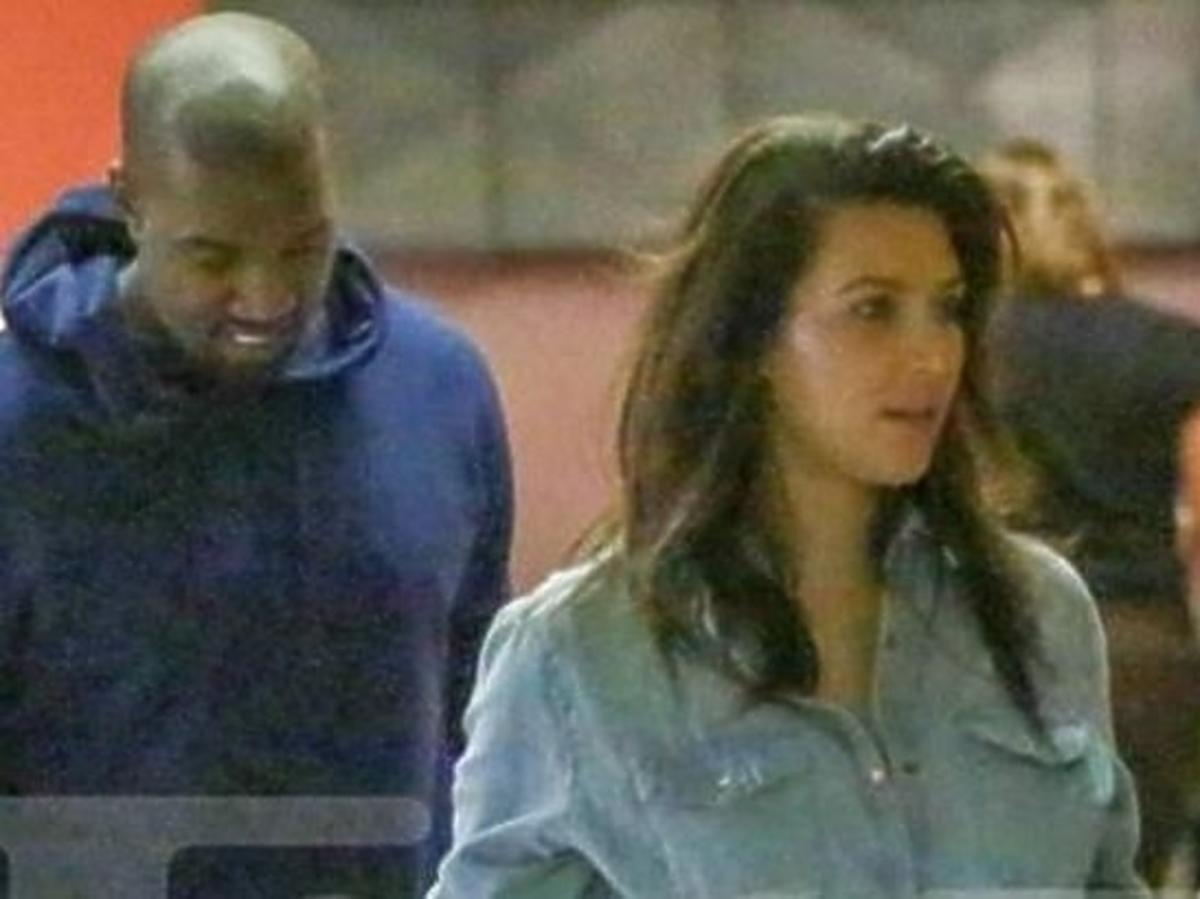 Figura Kim Kardashian po ciąży
