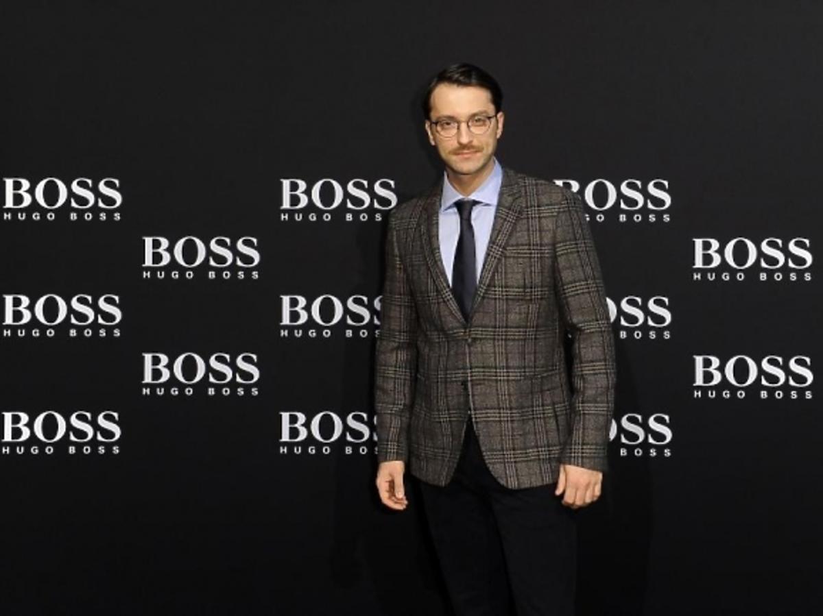 Filip Bobek podczas BOSS Fashion Event w Galerii Mokotów