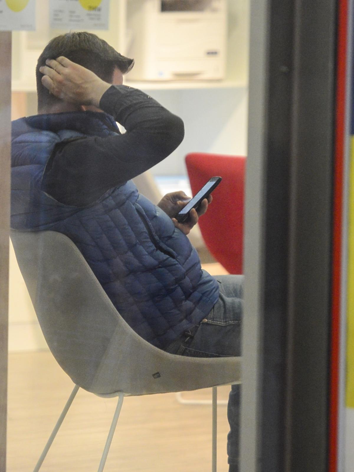 Filip Chajzer w telefonie