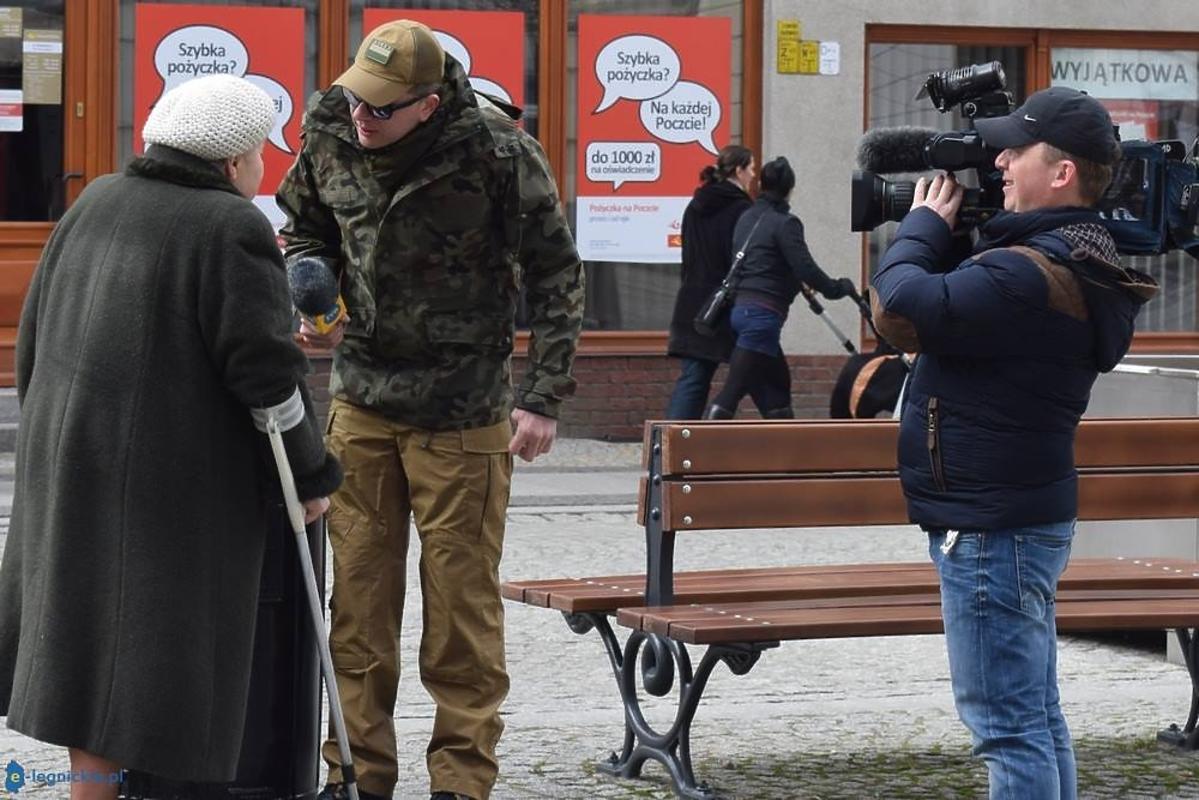 Filip Chajzer zaatakowany przez starszą panią